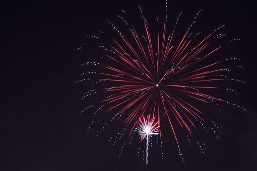 Fireworks, Night, Colorful, Festival, Celebration
