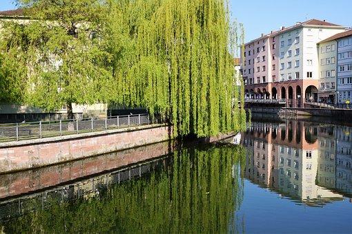 Pforzheim, City, River