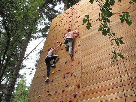 Climb, Climbing Wall, High Ropes Course, Climbing Holds