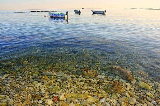 Sea, Adriatic Sea, Deep Blue, Holiday, Boat