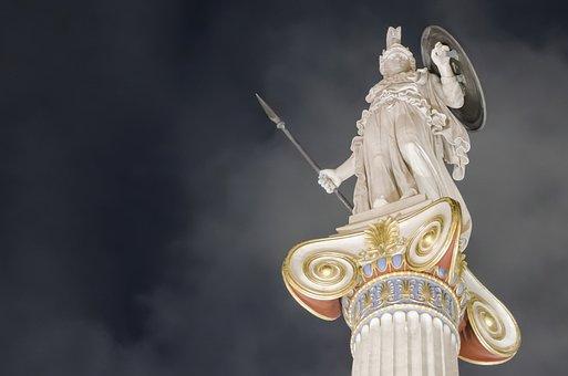 Goodness, Athena, Europe, Athens, Mythology
