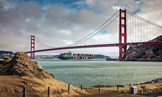 Usa, Golden Gate, San Francisco, California