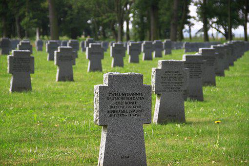 Graves, Soldiers Graves, Cheb Cz, War Graves Commission