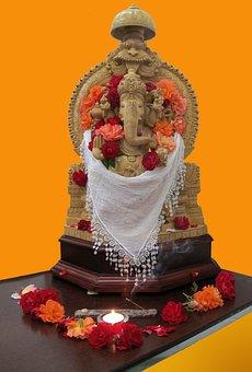 Ganesha, Gods, India, Pooja, Darshan, Religion, Hindu