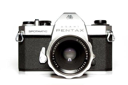 Analog, Camera, Pentax, Hipster, Retro, Lens