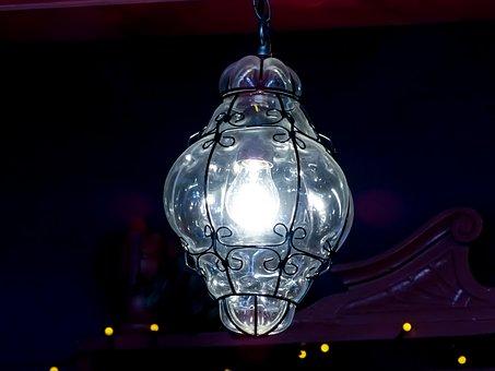 Light, Glass, Glass Light, Bulb, Lights, Blown Glass