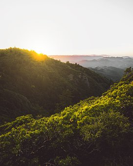 Mountains, Mount, Tamalpais, Landscape, Travel, Nature