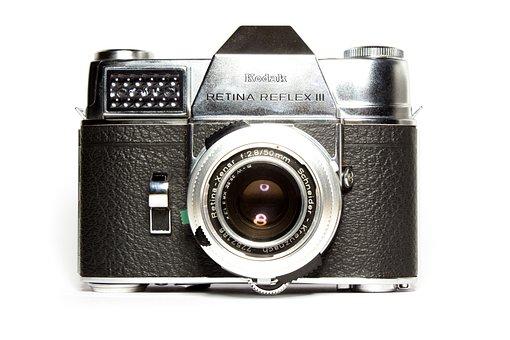 Analog, Camera, Kodak, Lens, Old Camera, Photograph