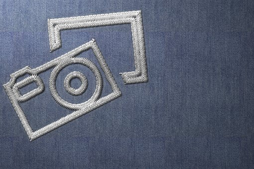 Pixabay, Logo, Emblem, Embroidery, Hand Labor, Art