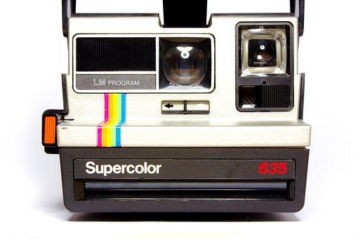 Polaroid, Camera, Analog, Hipster, Retro Look, Photo
