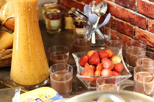 Strawberries, Smoothie, Pudding, Benefit From, Healthy