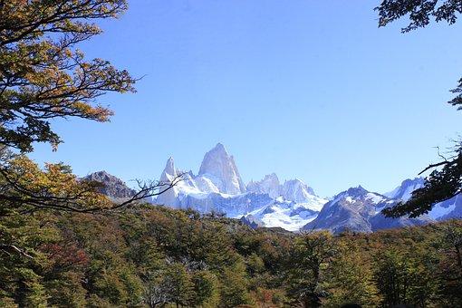 Cerro Fitz Roy, Landscape, S, Southern Argentina