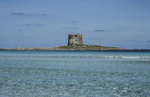 Hairy, Stintino, Sea, Torre, Sardinia, Summer