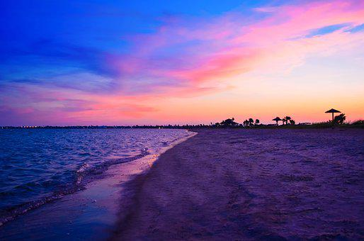 Beach, Sunset, Sea, Sunset Beach, Ocean, Sand, Vacation