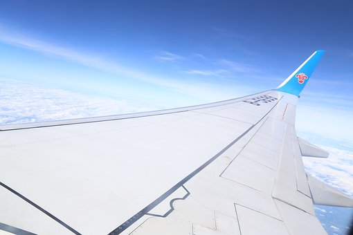 China Southern Airlines, Sky, Wing, Travel