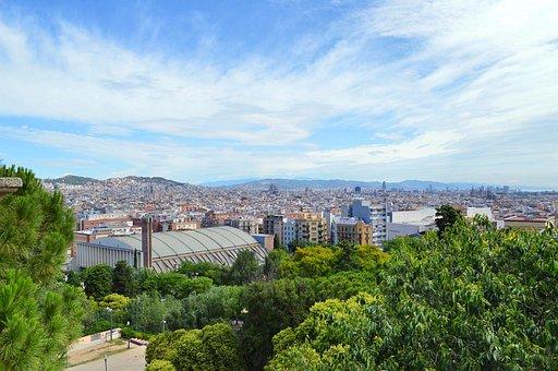 Barcelona, City, City View, Spain, Urban, Travel