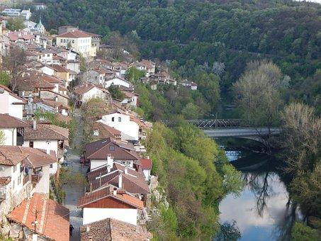 Veliko Tarnovo, View, Buildings, Veliko, Tarnovo