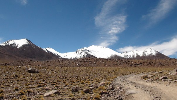 Bolivia, Uyuni To San Pedro, Desert