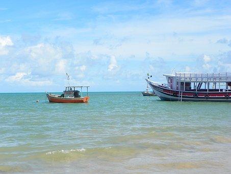 Praia, Arraial D'ajuda, Paraíso, Bahia, Vacations