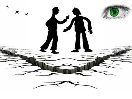 Fight, Controversial, Conflict, œil, Iris, View