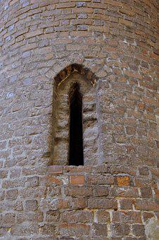 Window, Tower, The Middle Ages, Brick, Old, Church