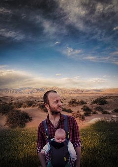 Color, Blend, Baby, Nature, Sky, People, Photoshop, Boy