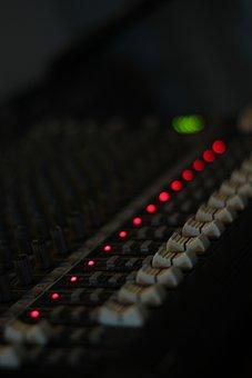 Console, Audio, Mixer, Team, Fader
