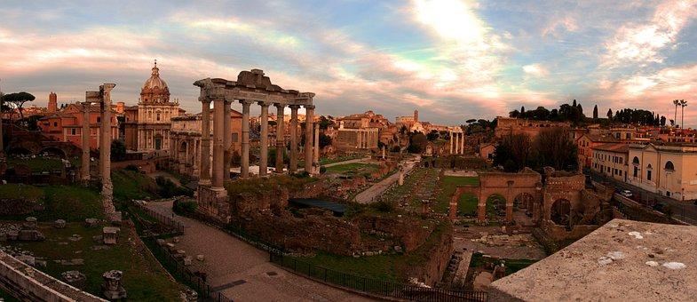Forum, Rome, Ancient, Italy, Travel, Roma, European