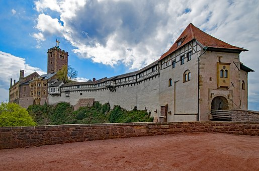 Wartburg Castle, Eisenach, Thuringia Germany, Germany