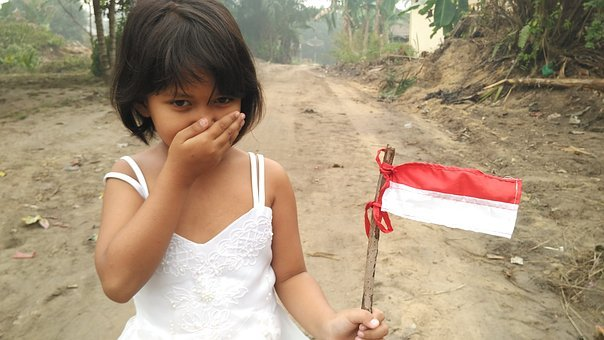 Child, Cute, Young, Public Domain Images, Indonesian