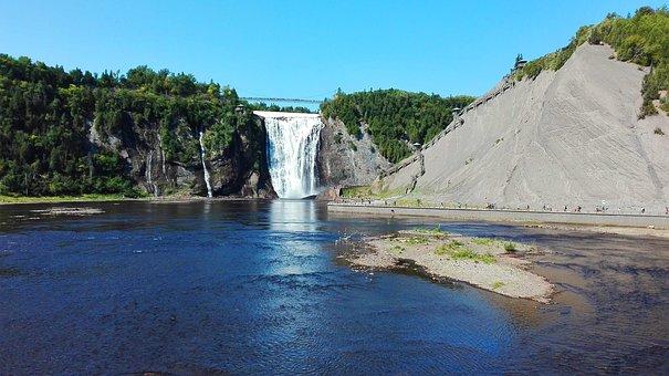 Montmorrency, Québec, Falls, Cascade, Nature, Landscape