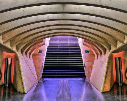 Railway Station, Liege, Liège, Architecture, Building