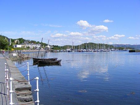 Tarbert, Classic, Loch Fine, Boat
