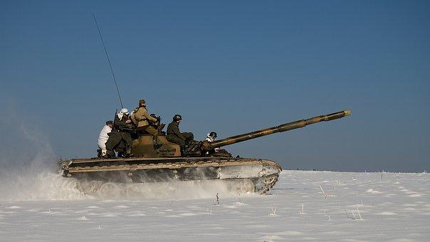 Tank, T72, Military Equipment