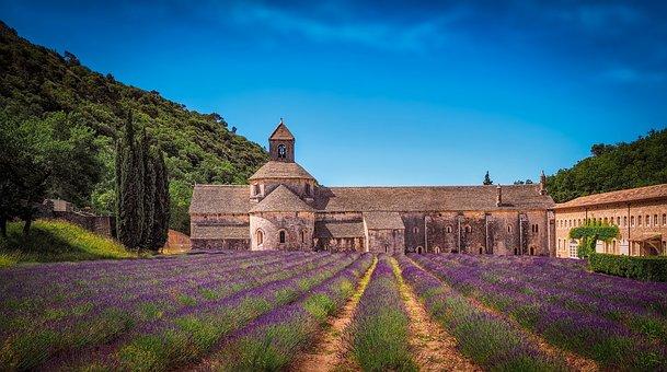 Monastery, Lavender, Levanduľové Field