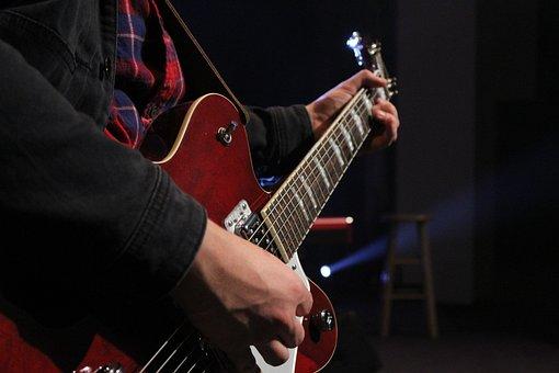 Guitar, Player, Music, Musician, Instrument, Guitarist