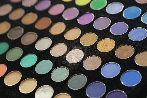 Cosmetics, Eyeshadow, Makeup, Beauty, Palette