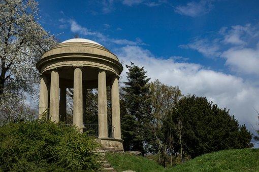 Park, Wörlitz, The Temple Of Venus, Landscape