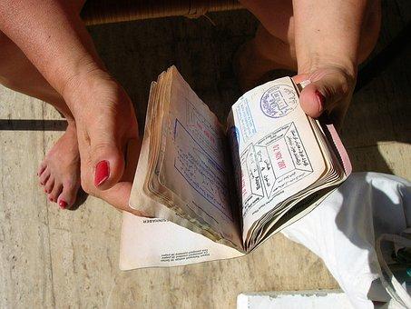 Pass, Passport, Visa, Stamp, Travel Document, Travel