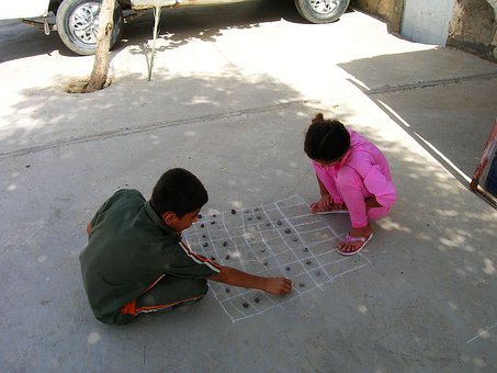 Children, Play, Road, Board Games, Leisure, Girl