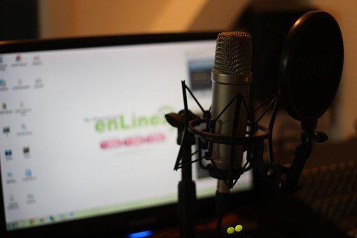 Digital Marketing, Audio, Microphone, Podcast