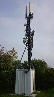 Radio Mast, Radio Station, Radio, Mobile, Base Station