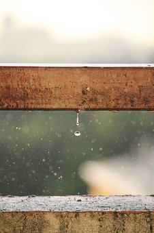 Rain, Drop, Bossage, Raindrops, Weather