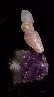 Quartz, Parrot, Crystal, Sfu