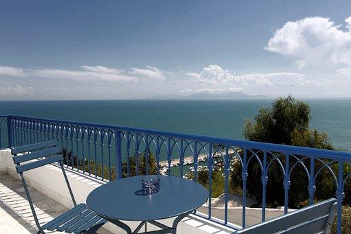La Villa Bleue, Sidi Bou Said, Tunisia