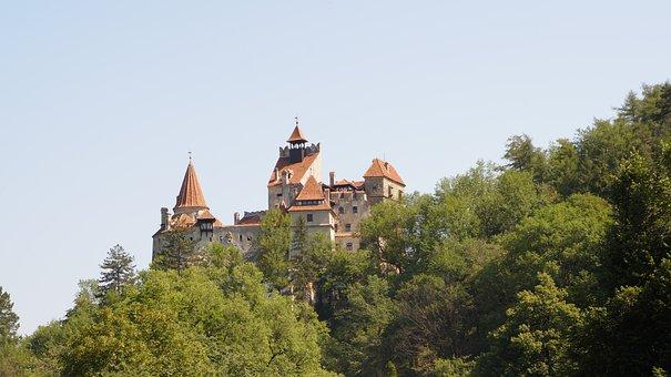 Bran Castle, Romania, Dracula, Travel, Transylvania