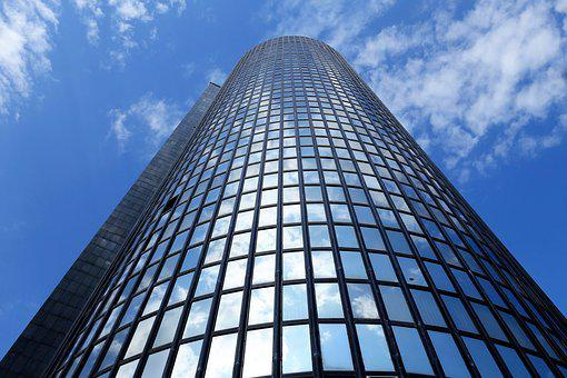 Glass Tower, Building, Arhitecture, Business, Urban