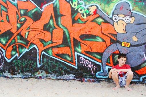 Boy, Sad, Wall, Sadness, Kid, Unhappy, Alone, Youth