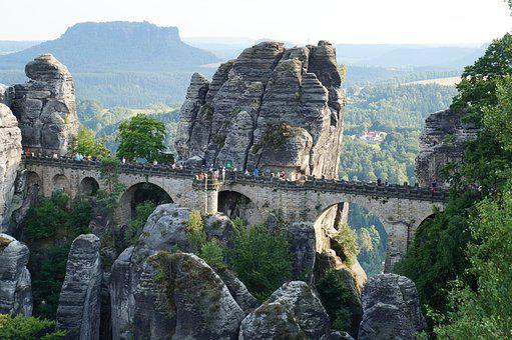 Bastei, Saxon Switzerland, Rock City