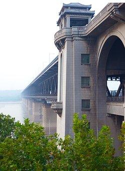 Wuhan, Bridge, Building